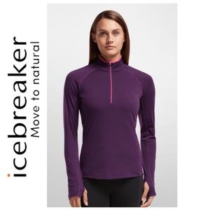 ICEBREAKER | Merino Wool Pullover Zip Size XS